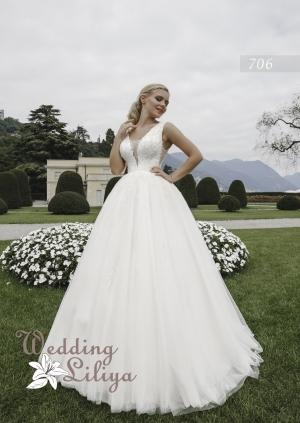 Wedding dress №706