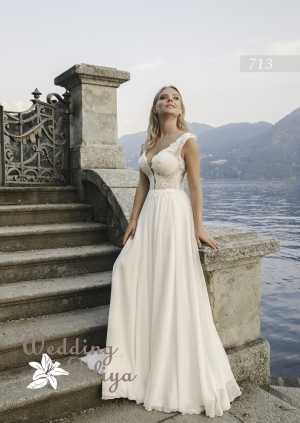 Wedding dress №713