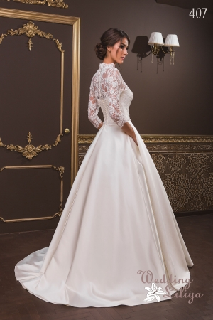 Wedding dress №407