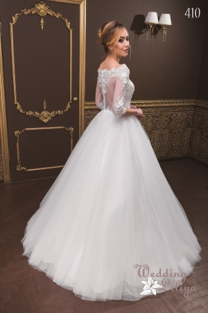 Wedding dress №410