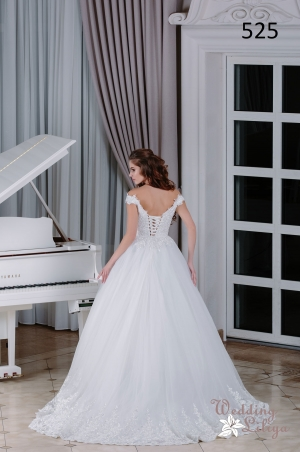 Wedding dress №525