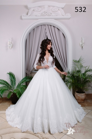 Wedding dress №532