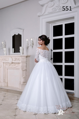 Wedding dress №551