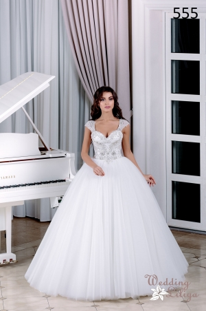 Wedding dress №555