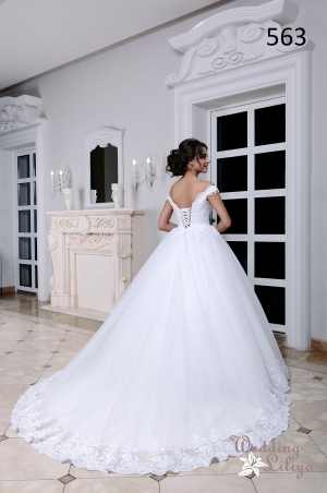 Wedding dress №563