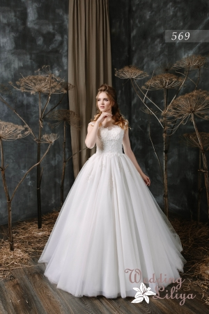 Wedding dress №569