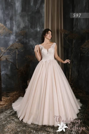 Wedding dress №597