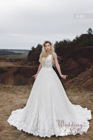 Wedding dress №646
