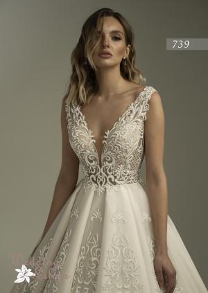 Wedding dress №739