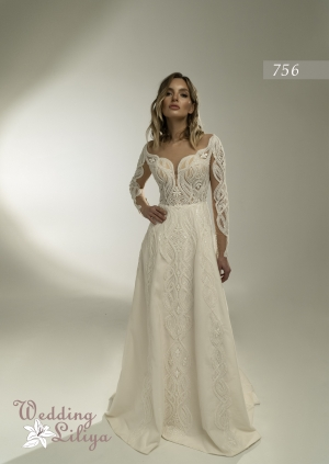 Wedding dress №756