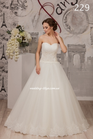 Wedding dress №229