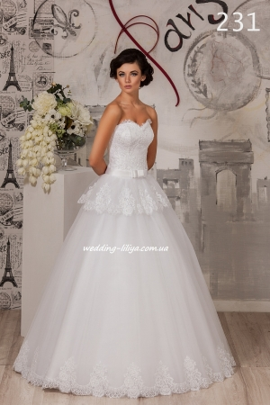 Wedding dress №231