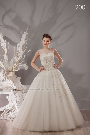 Wedding dress №200