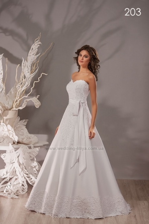 Wedding dress №203