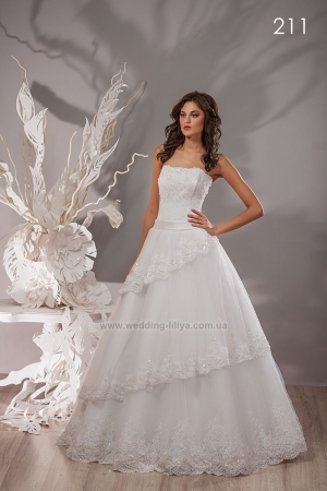Wedding dress №211