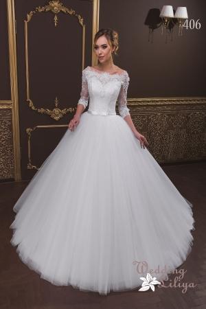Wedding dress №406