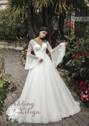 Wedding dress №727