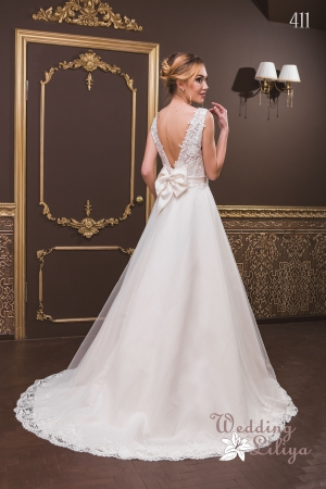 Wedding dress №411