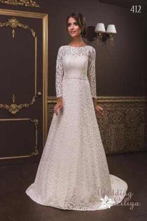 Wedding dress №412