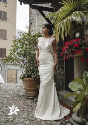 Wedding dress №736