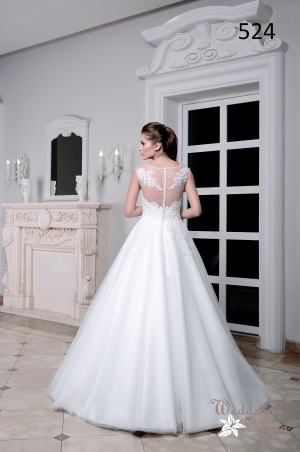 Wedding dress №524