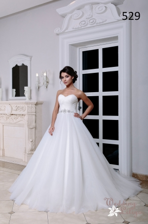 Wedding dress №529