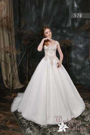 Wedding dress №574