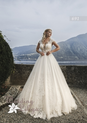 Wedding dress №691
