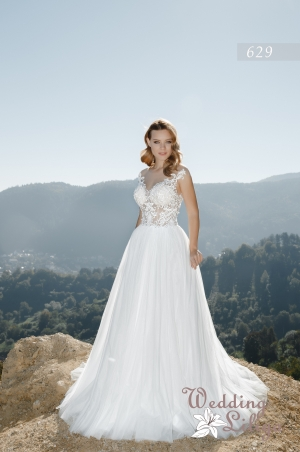 Wedding dress №629