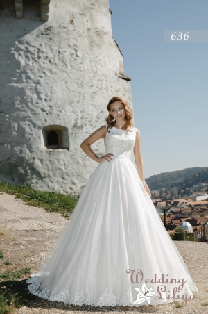 Wedding dress №636