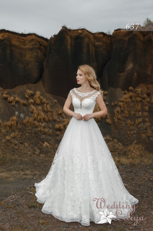 Wedding dress №637