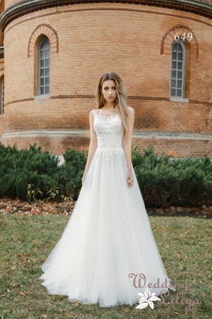 Wedding dress №649