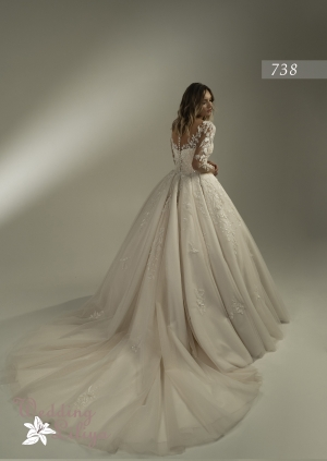 Wedding dress №738