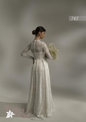 Wedding dress №742