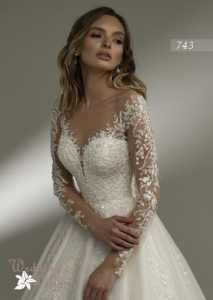 Wedding dress №743