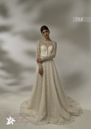 Wedding dress №758
