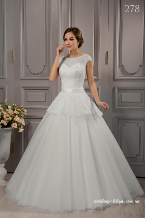 Wedding dress №278