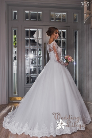 Wedding dress №305