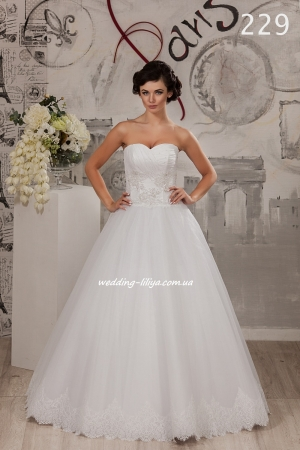 Wedding dress №229