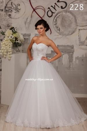 Wedding dress №228