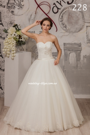 Wedding dress №228