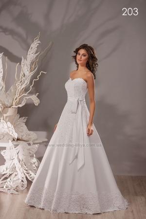 Свадебное платье №203
