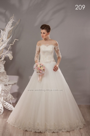 Wedding dress №209